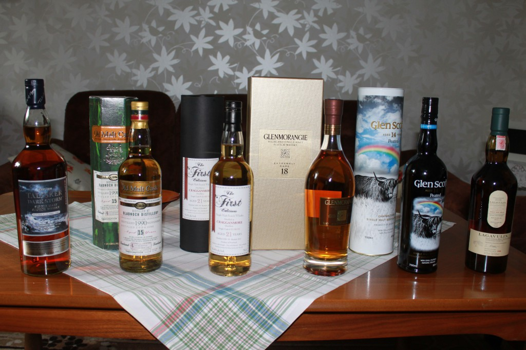 whisky skottland runt
